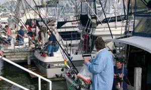 Racine charter fish1