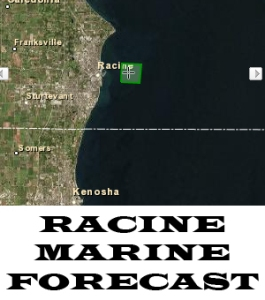 Racine forecast, lake michigan racine forecast, Racine wi fish forecast